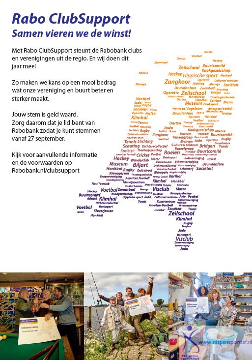 Clubactie 2019 Nispen Sportief